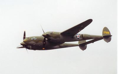 Lost Squadron P-38 Glacier Girl
