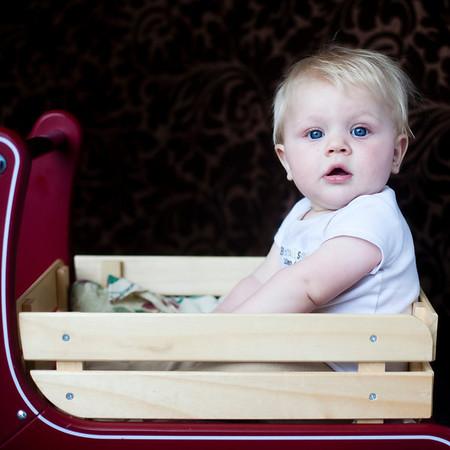 Baby Gavin Six Months