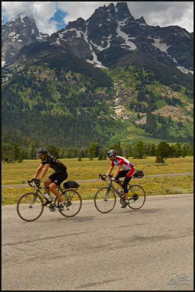 Last Day - Riding Thru Grand Teton National Park