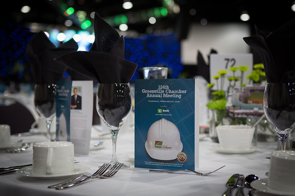 Greenville Chamber of Commerce- 124th Annual Meeting
