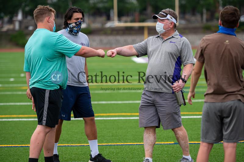 Dom Damico, Mount Saint Joseph High School Football Coach