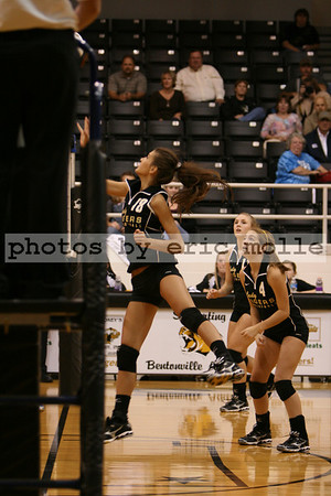 Volleyball - Rogers at Bentonville - 10/07/2008