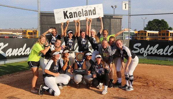 Kaneland High School softball welcome home