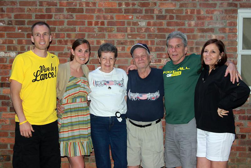 2010 July 2 & 3  - Jim, Peg, Dustin & Erinn's visit