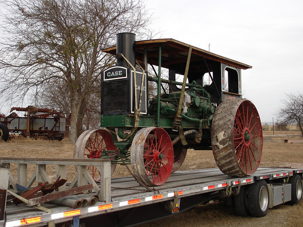 Rumely Model F Relocation 02-11-06