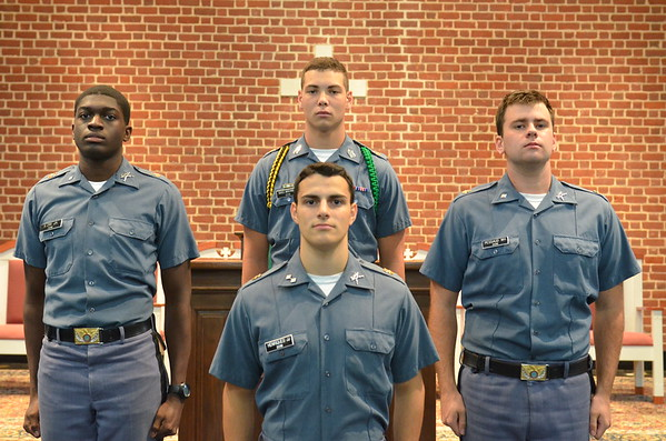 The Top Four Cadet Corps Leaders