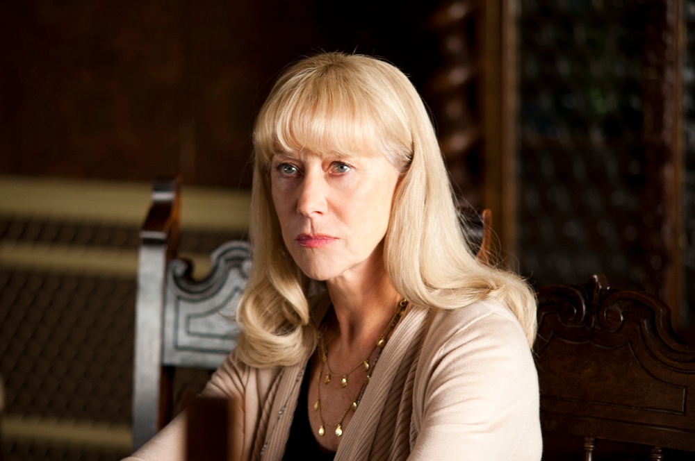 ". This undated publicity image released by HBO shows Helen Mirren in a scene from the HBO film, ""Phil Spector.\"" Mirren was nominated for an Emmy Award for best actress in a miniseries or movie on, Thursday July 18, 2013. The Academy of Television Arts & Sciences\' Emmy ceremony will be hosted by Neil Patrick Harris. It will air Sept. 22 on CBS. (AP Photo/HBO, Phil Caruso)"