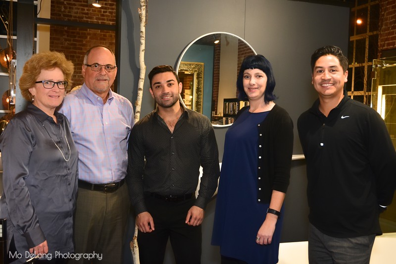 Michelle Coles, Dave Patters, Sam Jabri, Valerie Simon and Keith Rodriguez