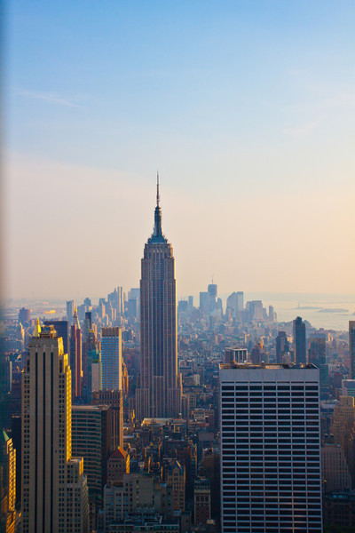 Empire State Building, viewed from Top of the Rock