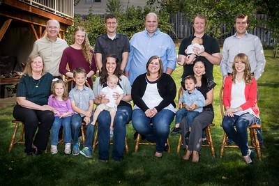 September 2016 - Cabin, Birthday, and Family Photos