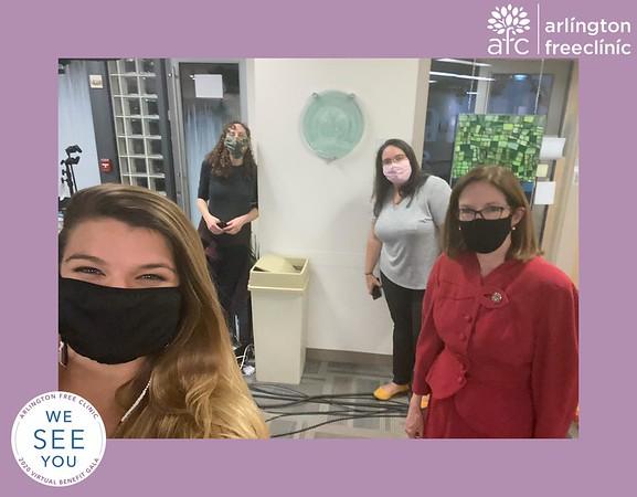 Arlington Free Clinic Virtual Photo Booth