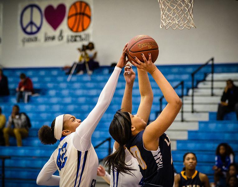 Basketball Girls Varsity vs  Lamar 01-21-14-18
