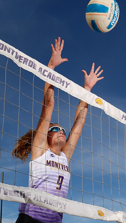 3-3-20 Beach Volleyball Action