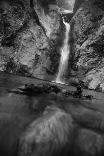 Eaton Canyon Falls, Angeles National Forest