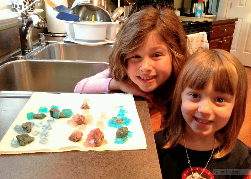 With Madeline's crystal project
