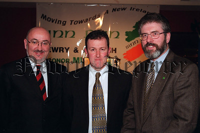 Conor Murphy Gerry Adams