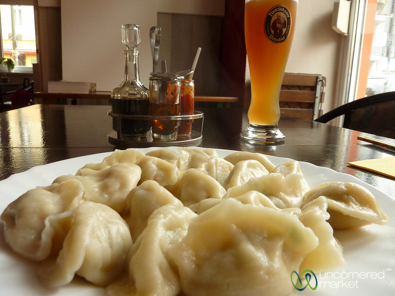 Chinese Dumplings at Wok Show - Prenzlauerberg, Berlin
