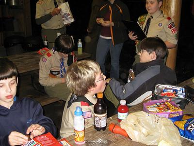 Webelos Campout - Camp Parsons - Nov 16-18