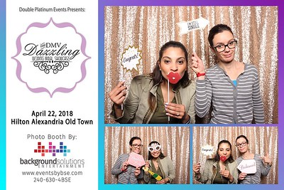 DMV Dazzling Wedding Showcase Photo Booth