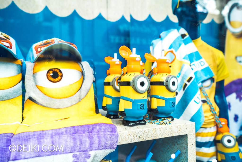Universal Studios Singapore - Park Update May 2016 / Minion Mini Sipper