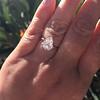 2.01ct Antique Pear Shape Diamond GIA G VS1 10