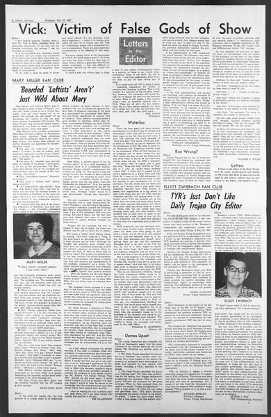 Daily Trojan, Vol. 58, No. 76, February 22, 1967