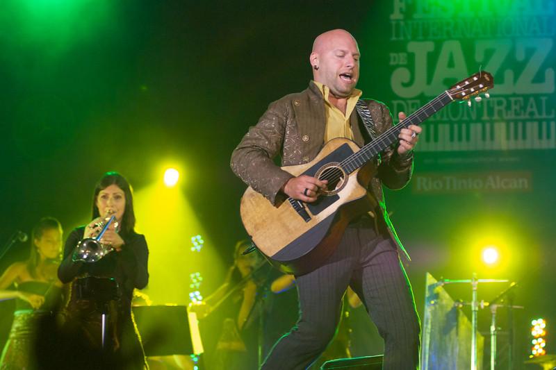 Marco Calliari, Montreal Jazz Festival, July 1, 2011