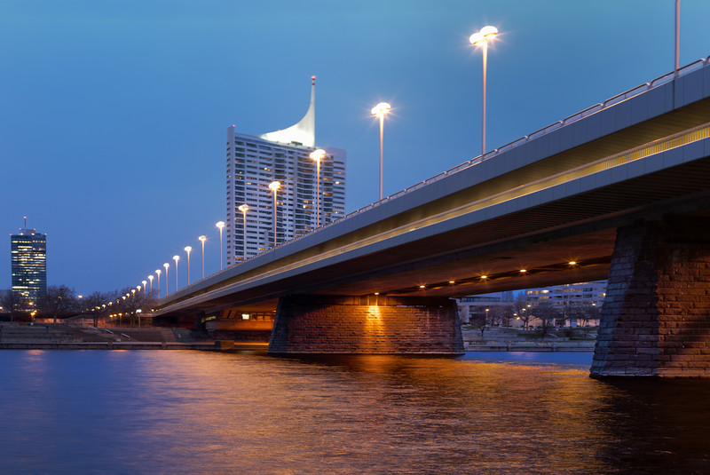 The New Imperial Bridge (Reichsbrücke)