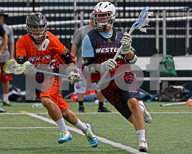 8/2/2013 - Western vs. New York City - David W. Murphy Field, Onondaga Community College, Syracuse, NY