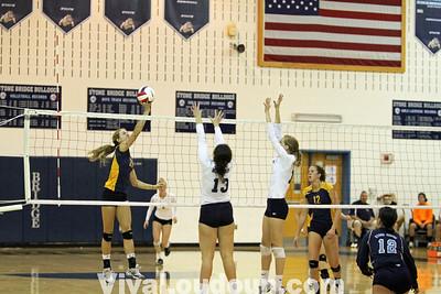 Volleyball: Loudoun County at Stone Bridge (By Dan Sousa)