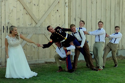 Jacob & Courtney's Wedding- 39,117 pic hits