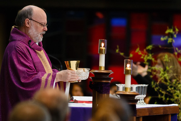 March 1, 2015 -  9:45 Mass by Fr. Dave Gese