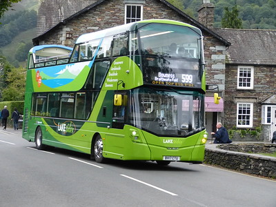 13801-13807 Volvo B5TL / Wrightbus Open Top