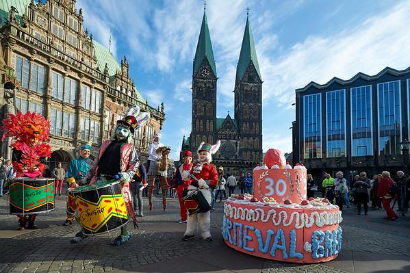 Bremer Karneval 2015 - Der große Circus