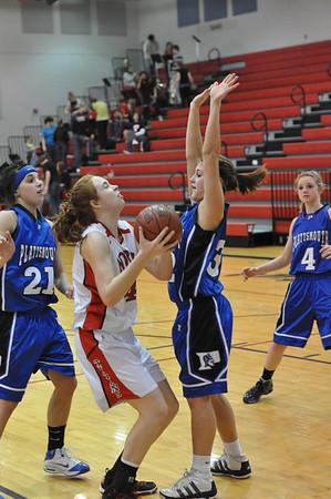 Var Girls Basketball vs Plattsmouth-EMC, 1-26-11