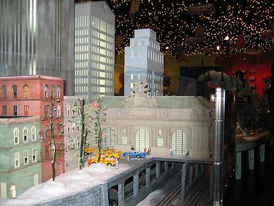 Train Exhibit at Transit Museum at GCT