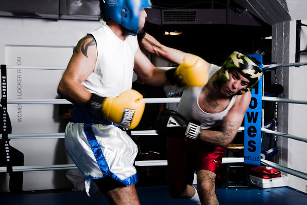 k-one fitness Oct 3rd boxing night