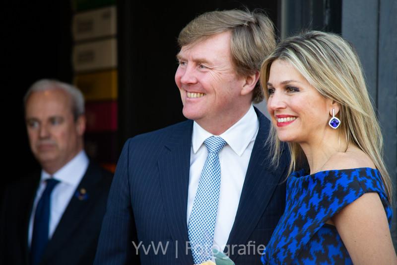 Willem-Alexander en Máxima bij Koningsconcert