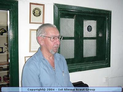 2001-10-27 Visit by John Calleja Gera
