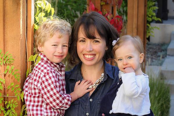 Estelle, Emerson & Karen