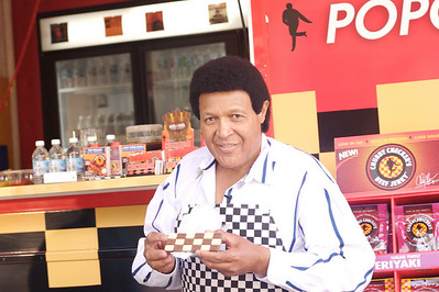 Chubby Checker Food Line