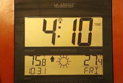 27 Degrees at 4 10 AM, Dutch Hill, Tamaqua (10-31-2014)
