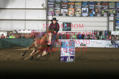 sun futurity 2nd barrel
