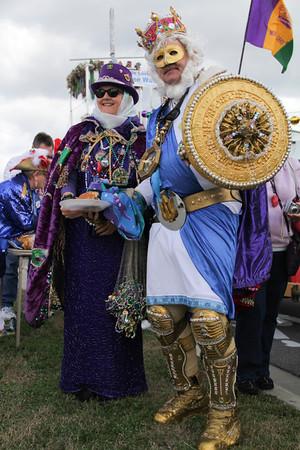 Mardi Gras 2-19-2012 Pensacola Beach