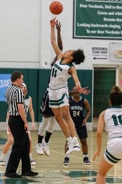2019-02-13 -- Twinsburg Girls Varsity Basketball vs Nordonia Girls Varsity Basketball