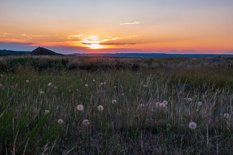 Eastern Montana Sunset