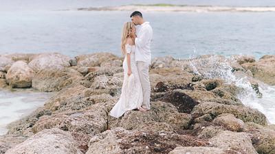 Lush Caribbean Beach Wedding