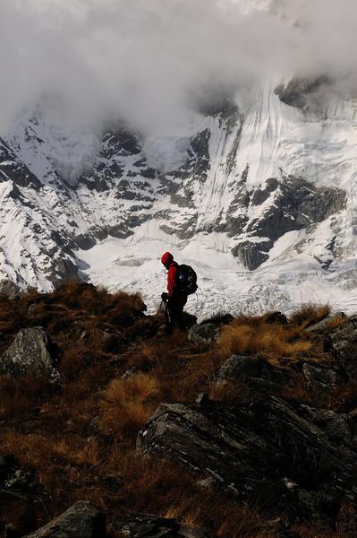 Trekker at the Edge