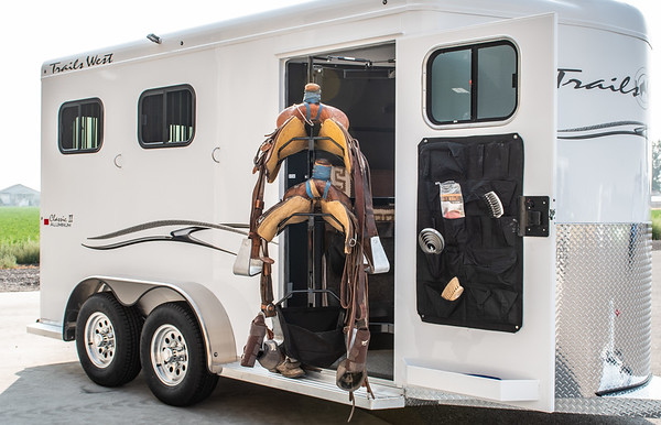 2019 Trails West Trailers Tack Rooms