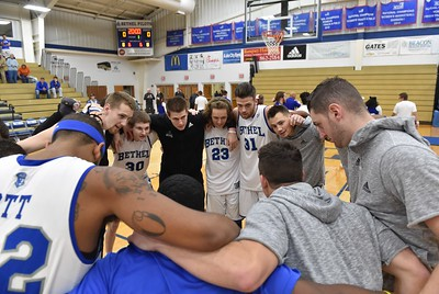 Bethel College Men's Basketball - 2017 vs Simmons College